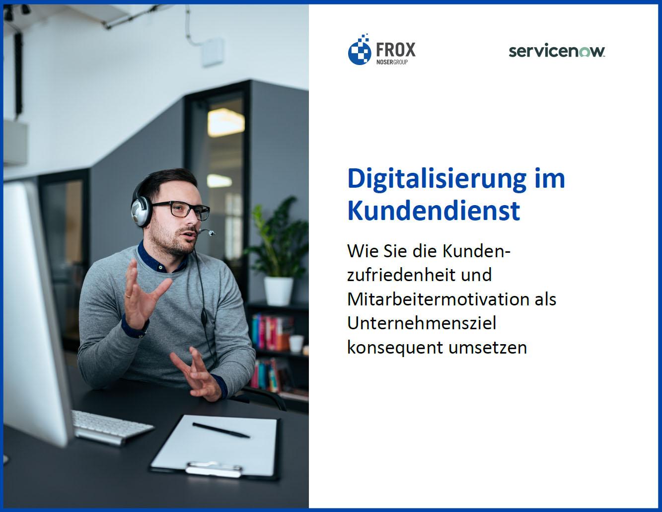 E-Book Digitalisierung im Kundendienst